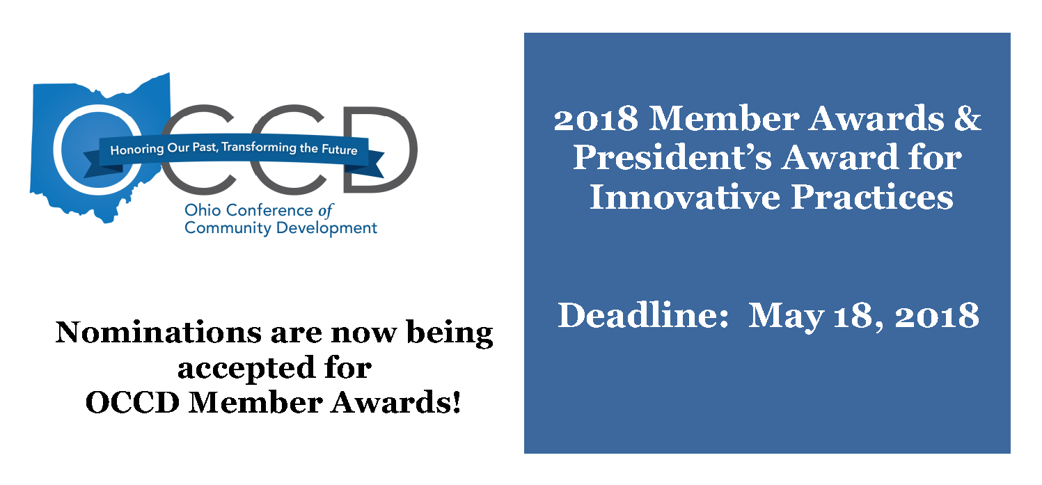 2018 OCCD Member Award Nominations